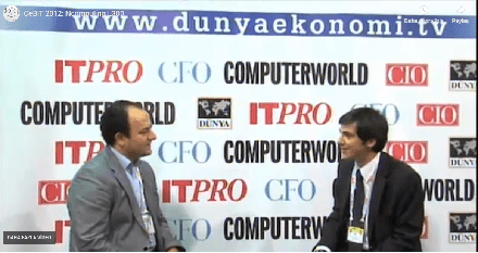 Cebit 2012 Dünya Ekonomi Tv