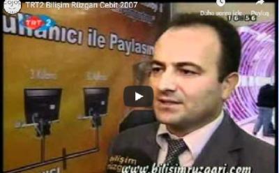 Cebit 2007 TRT2 Bilişim Rüzgarı